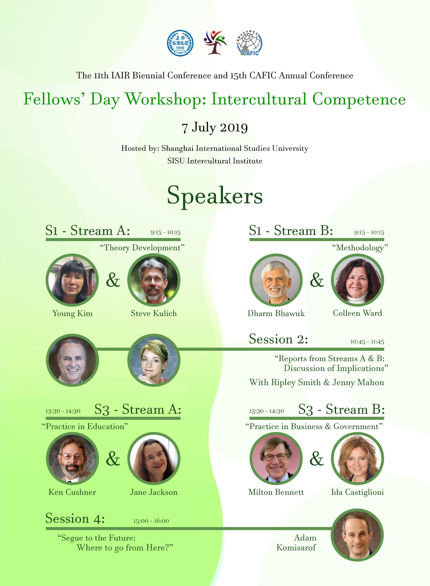 2019 IAIR Fellows Day in Shanghai
